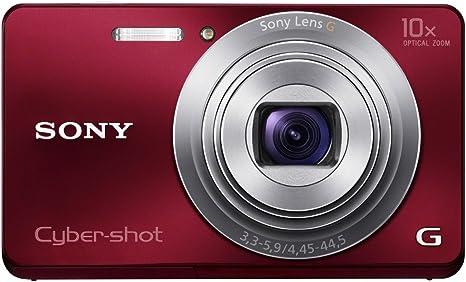 Sony Dsc W690r Cyber Shot Digitalkamera 3 Zoll Rot Kamera