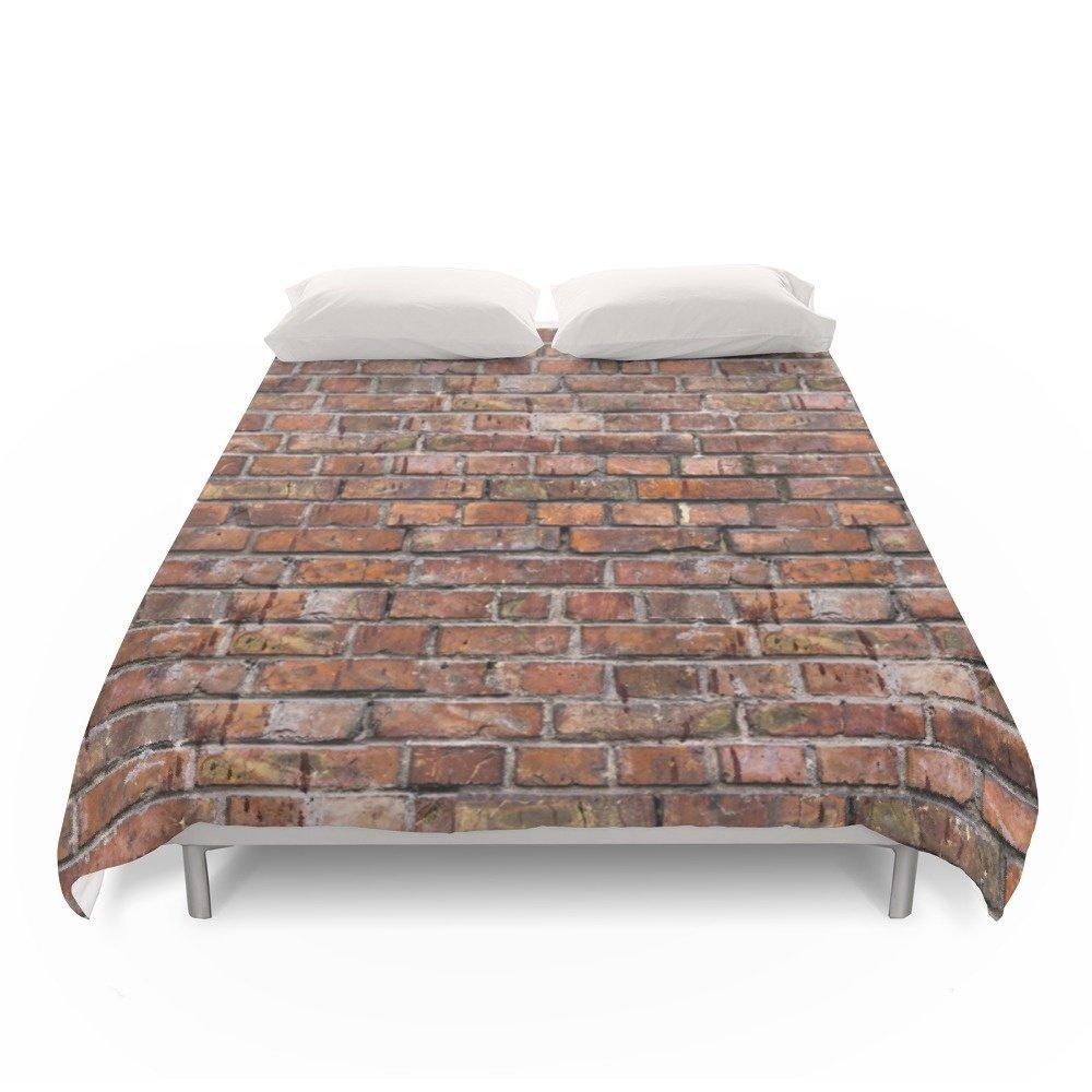 Society6 Brick Wall Duvet Covers Full: 79'' x 79''
