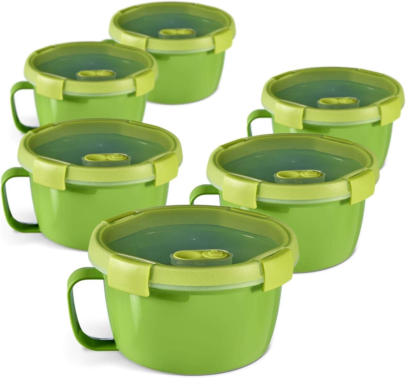 CURVER Smart to Go Sopa /& Noodles 0.9L Pack de 6 unit/és