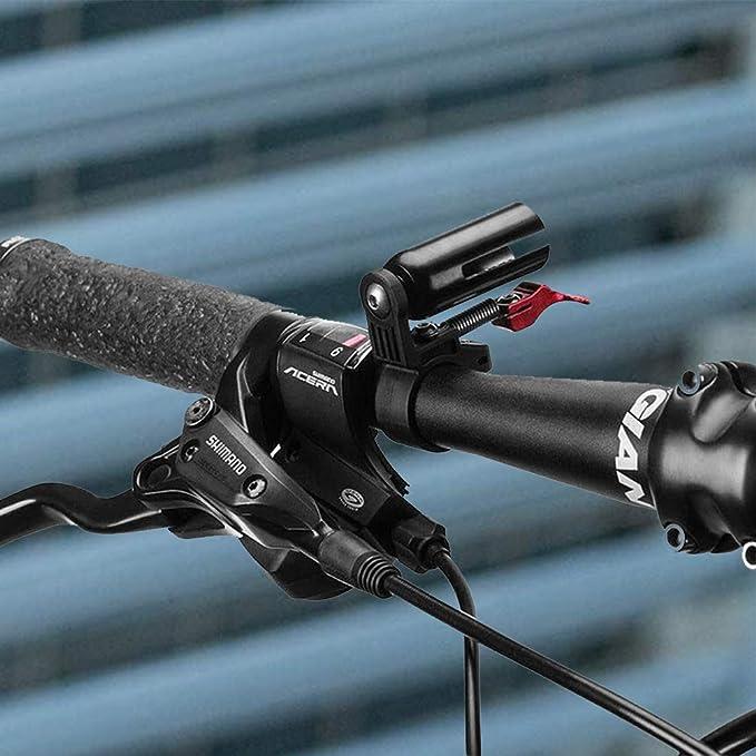 Fltaheroo Sonnette de Bicyclette Argent Anneau de klaxon de Velo en Aluminium Cloche de Velo Classique pour Velos des Adultes Hommes Femmes Enfants Filles Garcons