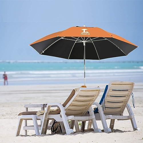 AosKe Beach Umbrella UV 50 ,Umbrella