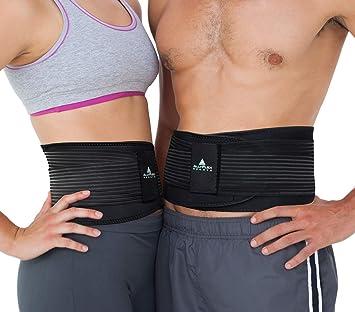 d3f981299ff AllyFlex Lumbar Support Back Brace Lower Back Pain Support Belt for Women  and Men Running Lifting