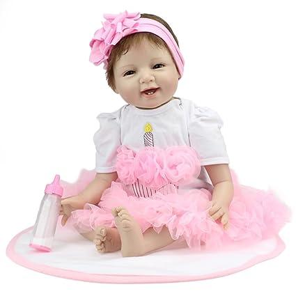 Amazon.com: Reborn Baby Doll Chica Que parezca real de ...