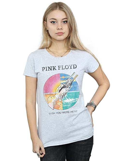 Pink Floyd Mujer Wish You were Here Camiseta: Amazon.es: Ropa y accesorios