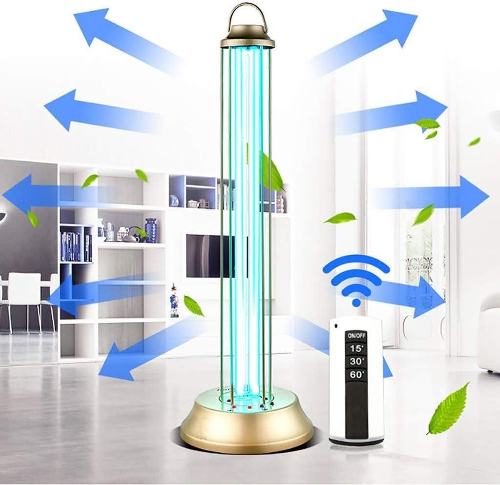 ZWXD UVsterilisation-Lampen-Licht UV-Ozon-Entkeimungslampe UV-Desinfektion Lampe T/ötet 99,9/% Virus Mit Lampensockelart Fernbedienung 220V Bakterien Mold Mites Germ 1219 Color : with Ozone