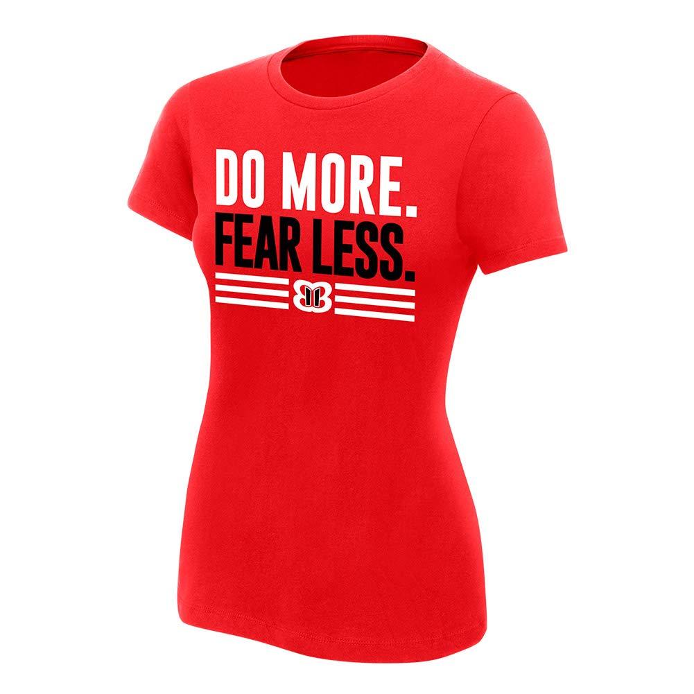 WWE Authentic Wear Nikki Bella Do More, Fear Less Women's T-Shirt