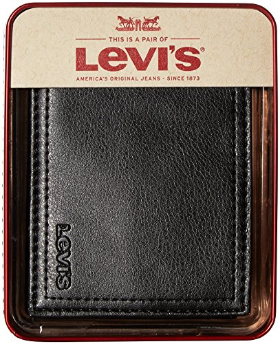 LEVIS-Cartera Billetera en Piel para Hombre: Amazon.es: Ropa y accesorios