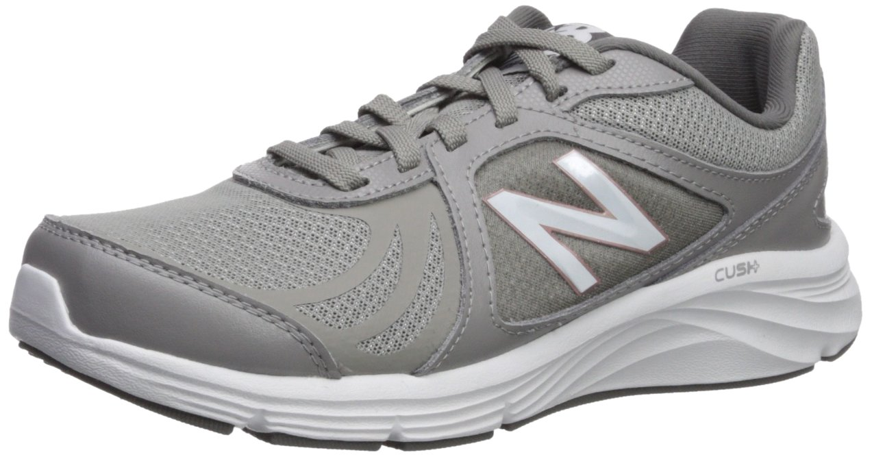 New Balance Women's 496v3 Cush + Walking Shoe B0751GPYWZ 5 B(M) US|Grey