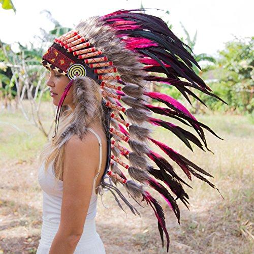 Novum Crafts Feather Headdress | Native American Indian