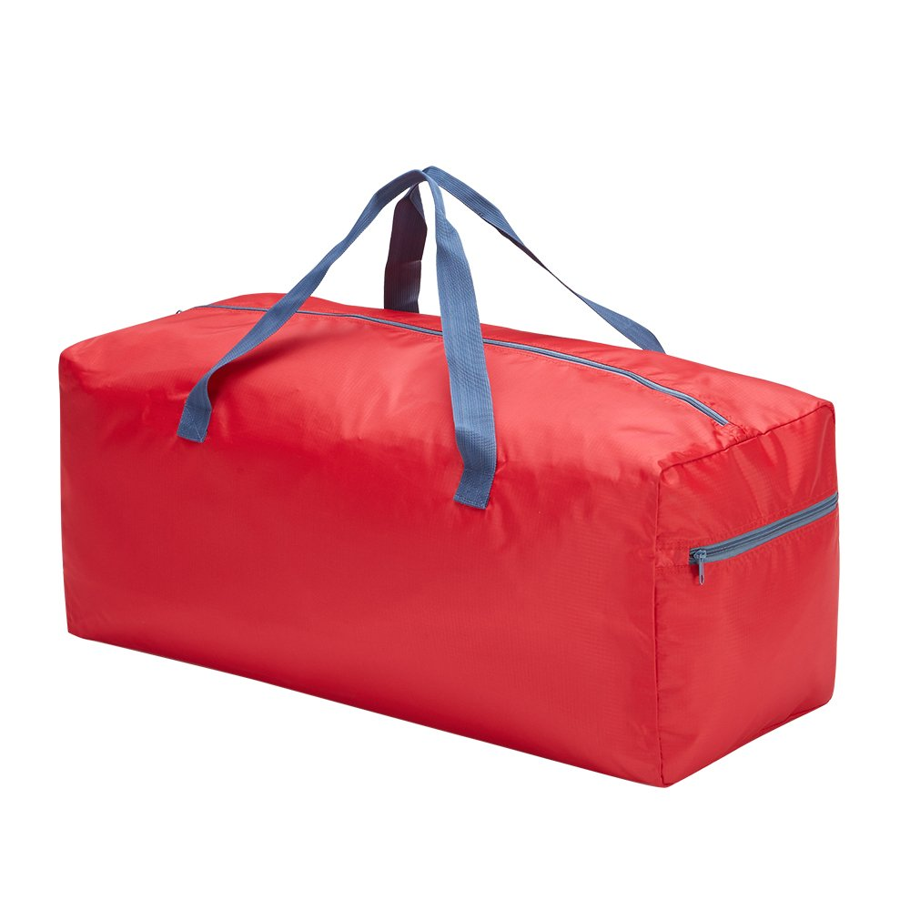 Foldable Duffel Bag 75L with Lightweight and Water Rresistant (Red) Ltd RML00081-2