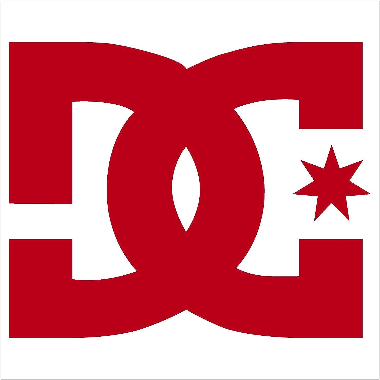 """DC Shoe COMPANYビニールデカールステッカー 3"""" レッド 743161888567 3\ レッド B0773ZL374"""