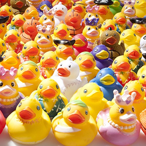 Rhode Island Novelty Mega Rubber Duck Assortment]()