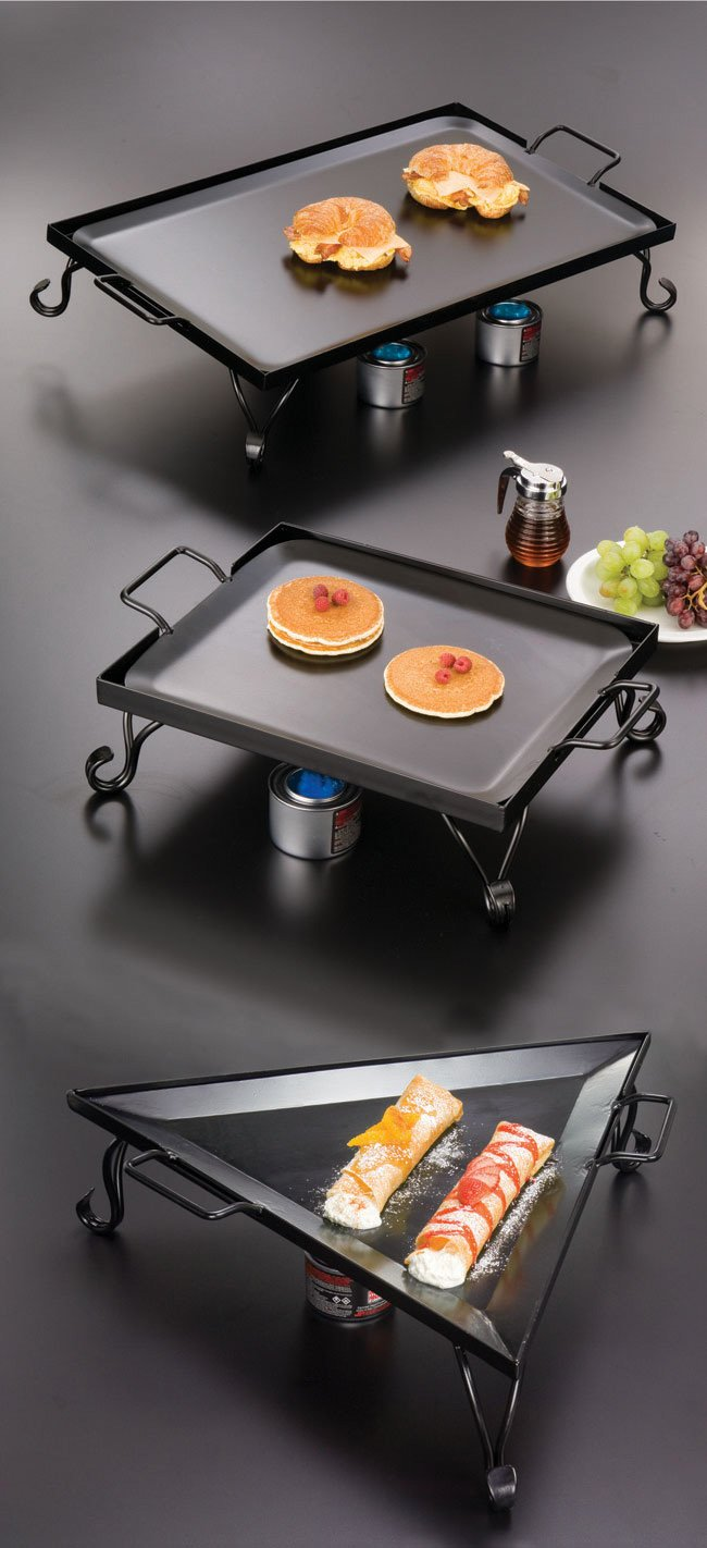 """American Metalcraft GS27 Rectangular Wrought Iron Griddle, 27"""" x 16"""" by American Metalcraft (Image #1)"""