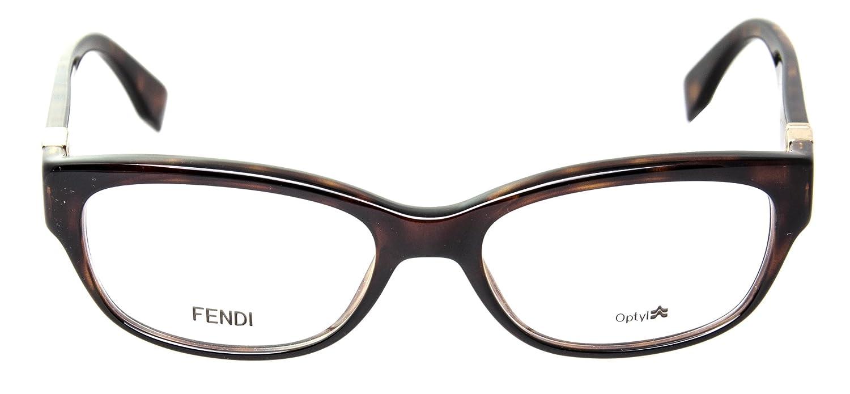 Amazon.com: FENDI Eyeglasses 0048 0Edj Havana 52MM: Shoes