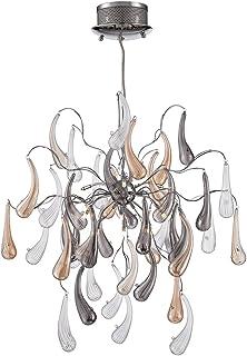 Possini euro design 26 wide icicle art chandelier amazon possini euro fabrizio 22 wide contemporary glass pendant aloadofball Image collections