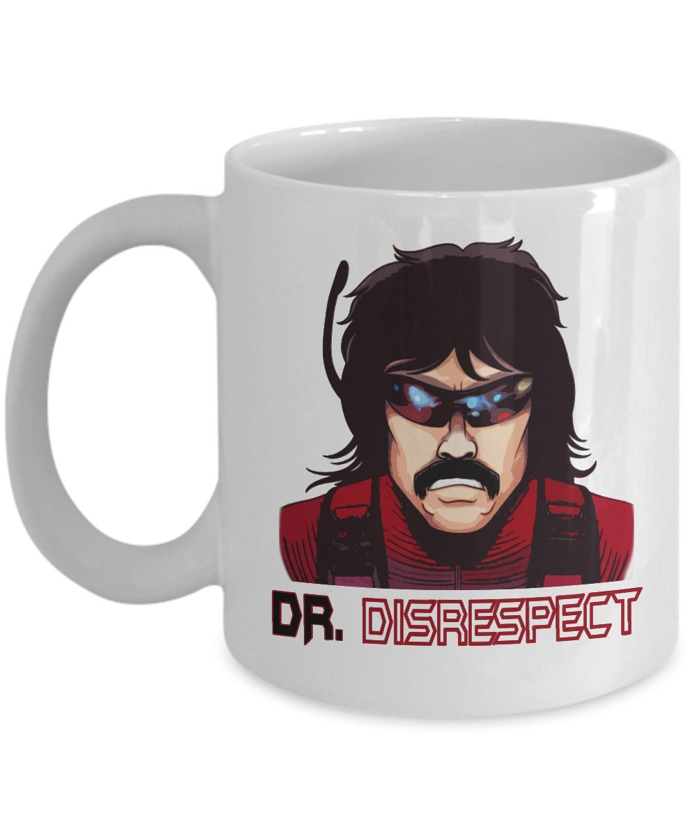 Dr Disrespect drdisrespectマグ面白いゲームStreamerコーヒーマグカップBest誕生日クリスマス父の日ギフトfor Men Boy Daddy 11oz GB-2474414-20-White 11oz ホワイト B07B3W3FDH
