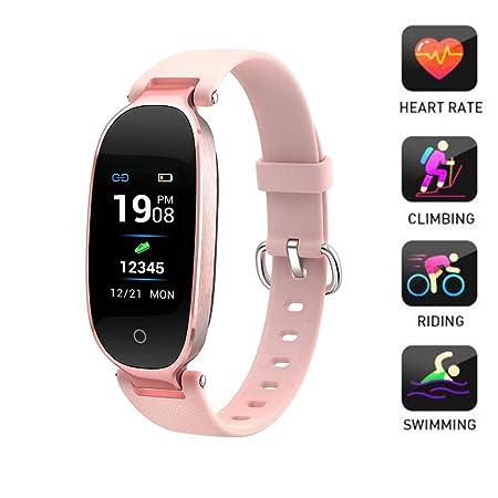 LMtt Fitness Tracker, Bluetooth Reloj Inteligente Impermeable ...