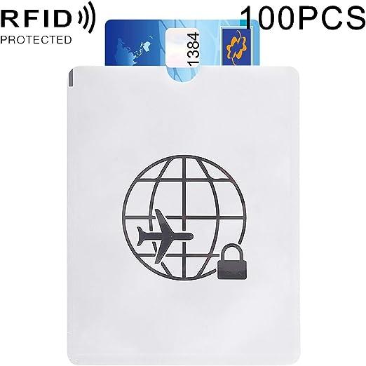 Carteras Caja de la libreta antirrobo del Papel de Aluminio del Pasaporte de la Cubierta de la Tarjeta RFID, tamaño: 13.5 * 10.5cm Carteras: Amazon.es: Hogar