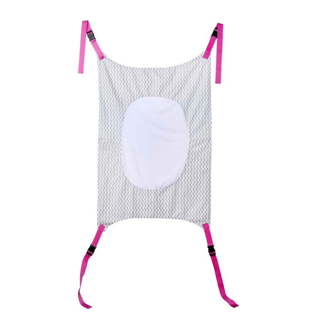 Oksale Infant Safety Baby Hammock Print Newborn Children's Detachable Portable Bed (White)