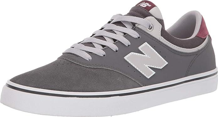 New Balance Numeric 255 Sneakers Skateschuhe Grau/Burgunder