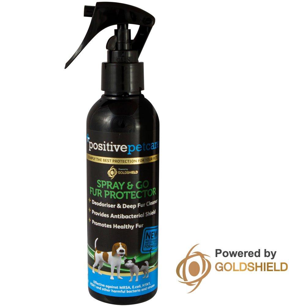 7jours Shampooing sec pour chien, protection en fourrure et après-shampoing, Spray & Go, nouvelle formule antibactérienne longue durée, Toilettage pour chiens, chats et petits animaux, à base d'eau, 100% sûr pour animaux domestiques–200ml par Posit