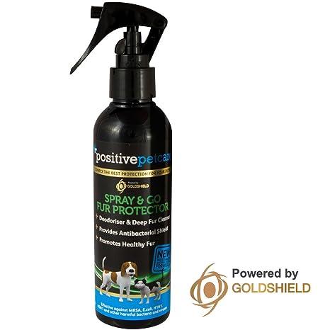 Champú en seco para mascotas Positive Petcare, 7 días, protector y acondicionador del pelaje, uso instantáneo, ...