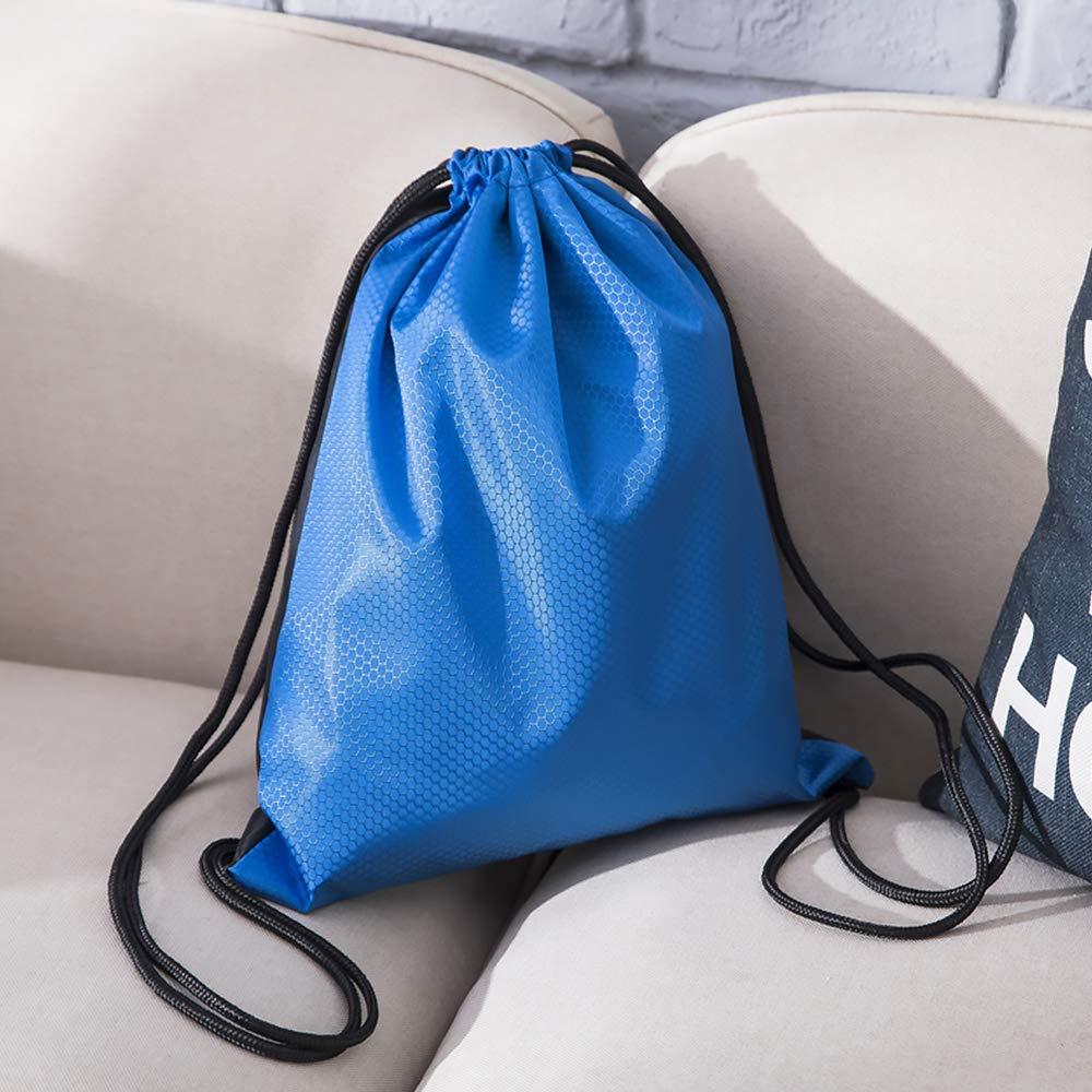 Bolsa de Almacenamiento para ni/ños Impermeable para Gimnasio Deporte HKEPS Bolsa Deportiva con cord/ón 20 L Adultos Ligera Viajes Mochila de Tela Oxford
