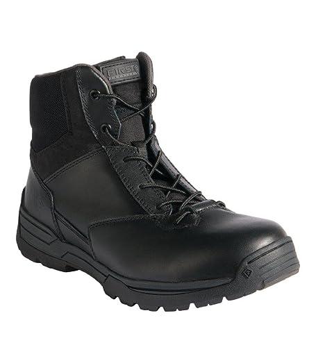 Men's 6 side zip duty boot (wide)