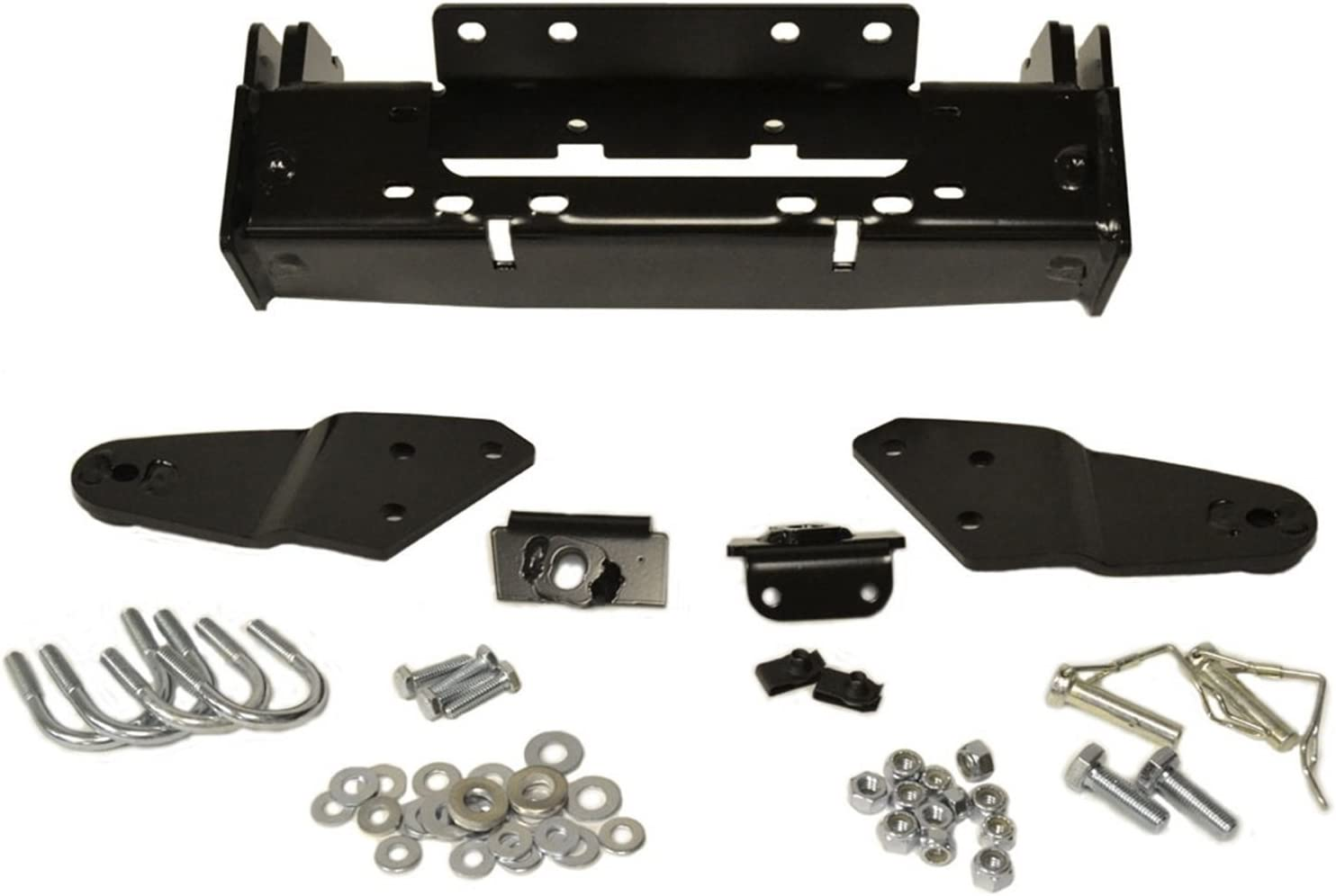 PLW MNT GRIZZLY 550//700 2012 Manufacturer 2012 Yamaha YFM550 Grizzly FI 4x4 Auto Plow System Center Mount Kit Warn