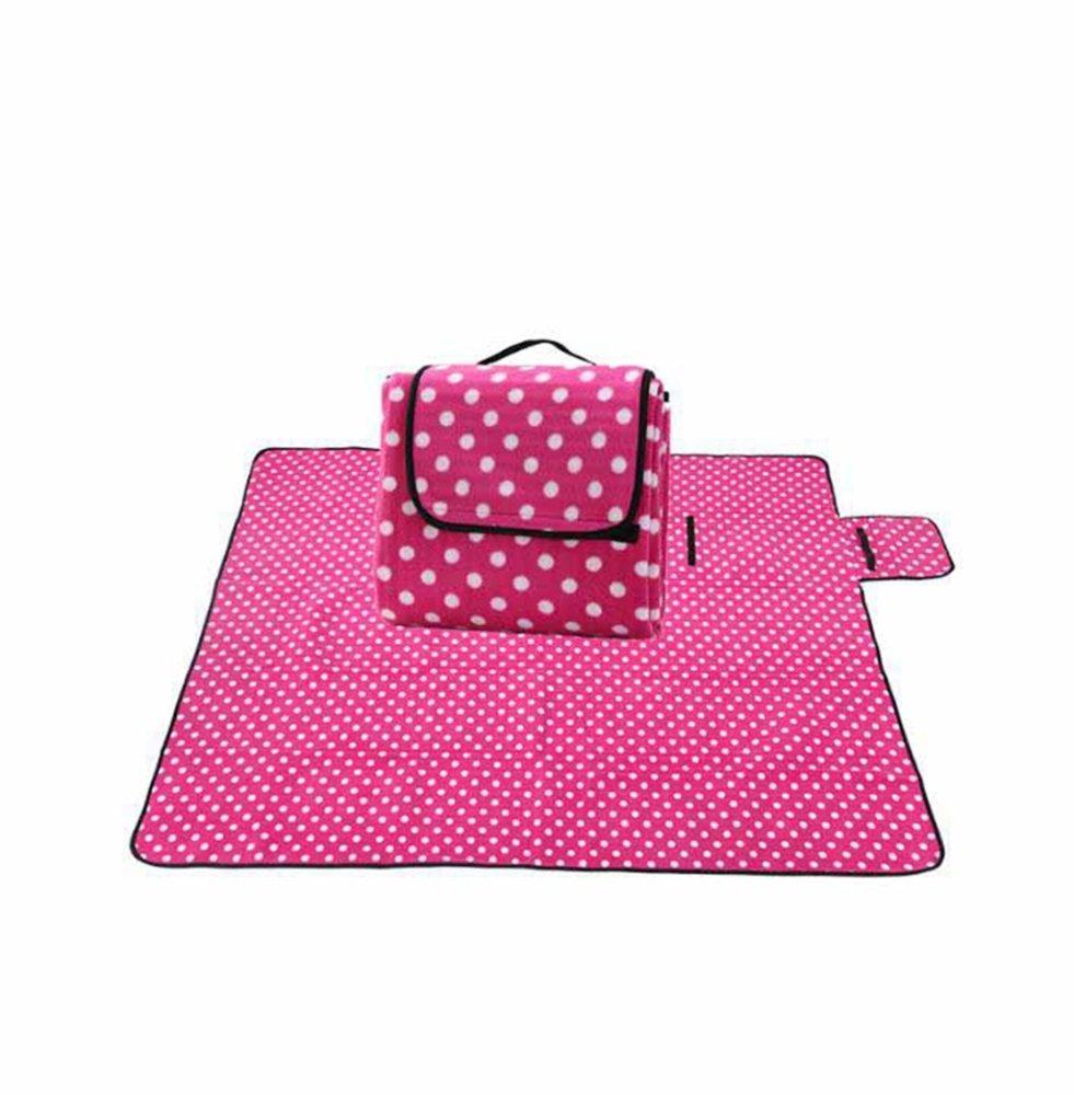 Rouge-petit 130  170cm Lozse Pad Escalade bébé Tapis de Pique-Nique étanche 200x200cm Couverture Camping Plage moistureproof Couverture de Pique-Nique Tissu de Pique-Nique