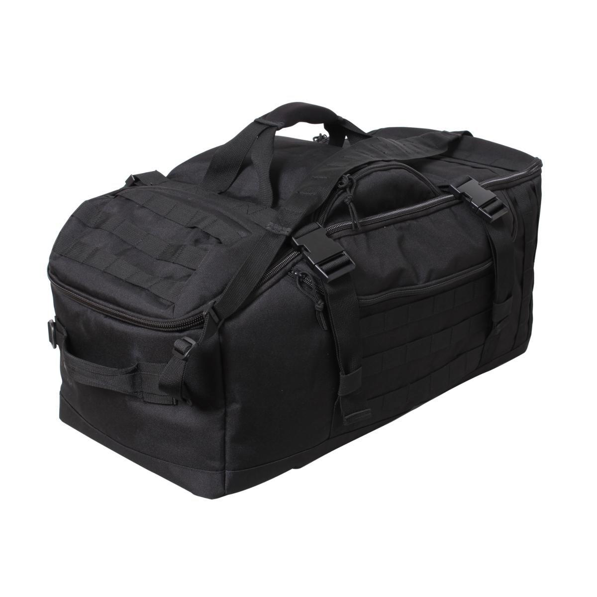 Rothco 3 in 1 Cabrio Mission Tasche mit MOLLE, schwarz