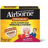 Schiff Airborne 草莓味VC泡腾片,30片,1000毫克维生素C