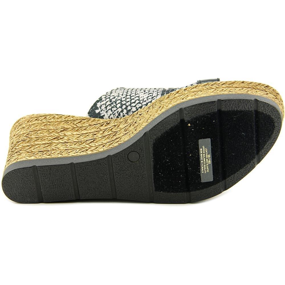 Bella Vita Women's Formia Wedge Sandal B01AAELNJ2 6 W US|Python Black
