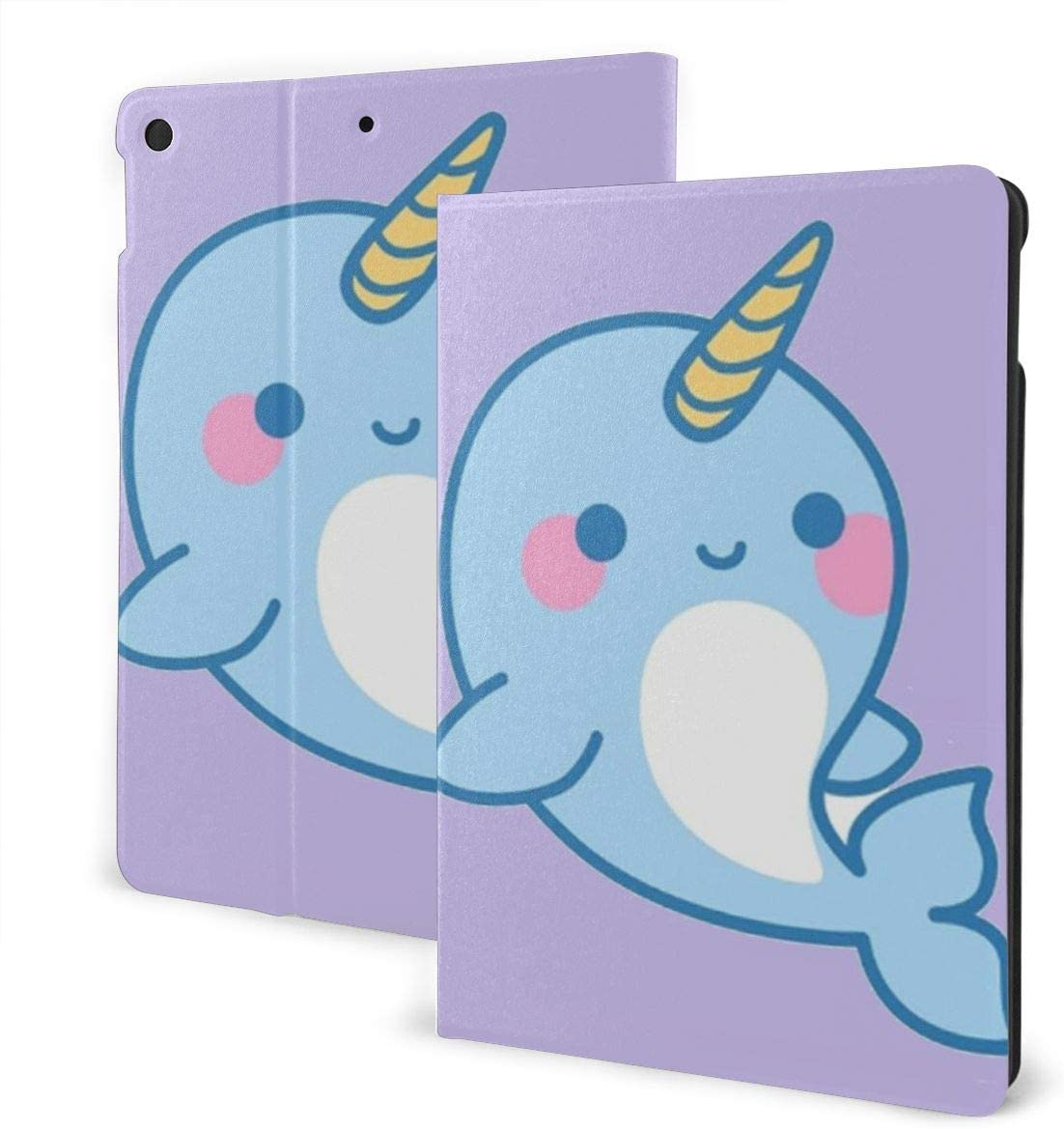 Narwhal for iPad 10.2 Case 2019 for iPad 7th Generation Case Premium Shockproof Case PU Leather Protective Smart Cover - Auto Wake/Sleep, Multiple Viewing Angles, Magnetic Closure