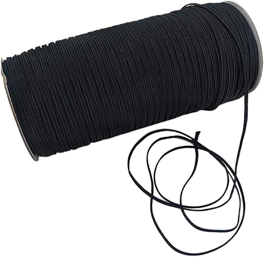 1//8 inch Braided Elastic Cord//Elastic Band//Elastic Rope 5 Yard Sewing Elastic