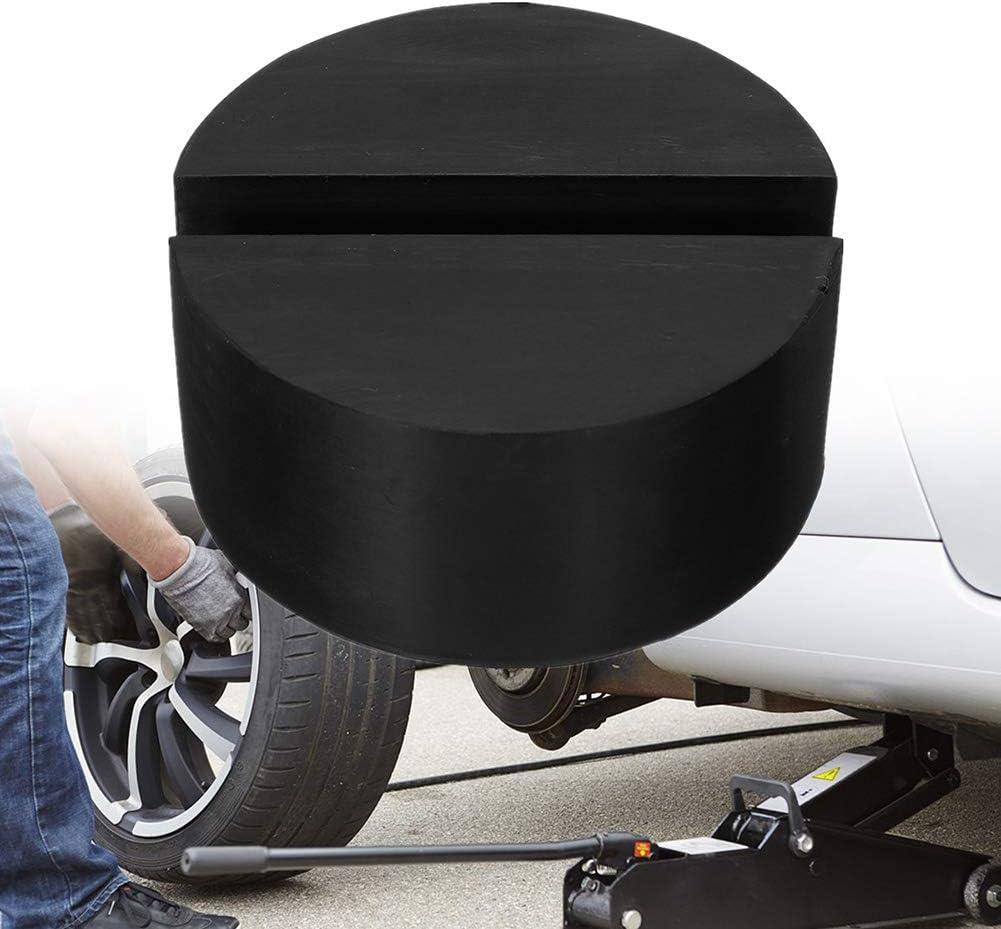 Universal Durable Car Floor Frame Rail Adapter Scheibenform geschlitzt ZqiroLt Gummi Jack Pad