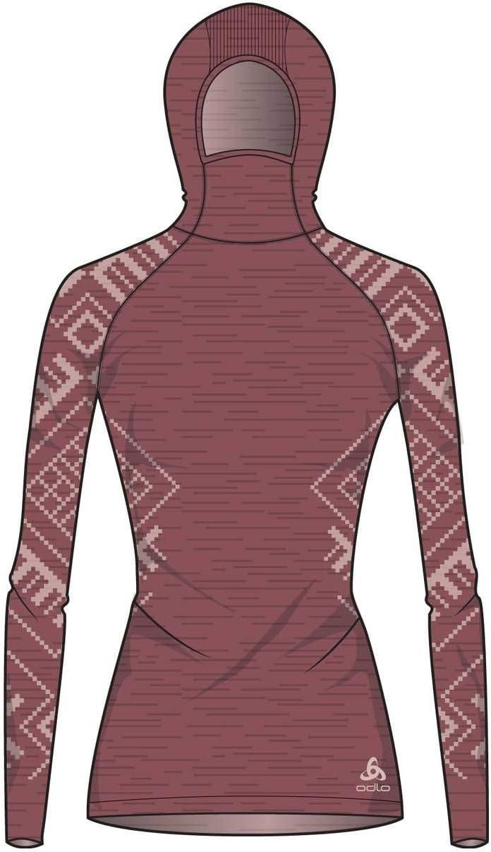 Odlo Damen Gesichtsmaske Unterhemd