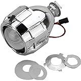 2.5 pulgadas Xenón Mini Bi-xenón HID Limpia la cubierta de la lente del proyector Farola Faros Faros personalizados H1 H4 H7