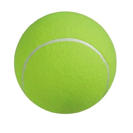 HYSUNG Pelota de Tenis Gigante DE 24 cm para Masticar Mascotas ...