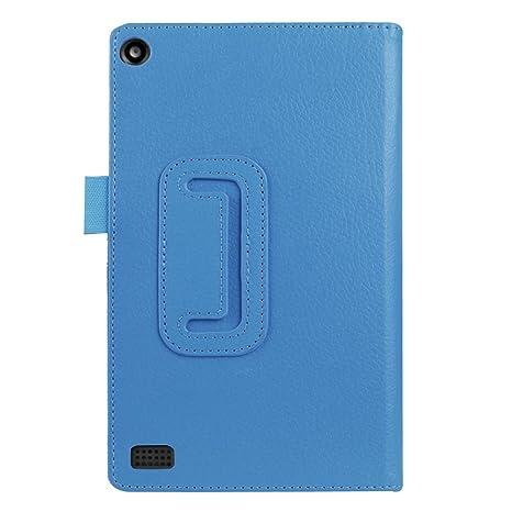Qiaogle Tableta Case - Funda de PU Cuero Clamshell Carcasa Cover para Lenovo Yoga Book 2-in-1 Tablet (10.1 Pulgadas) - KP01 / Rojo Estilo