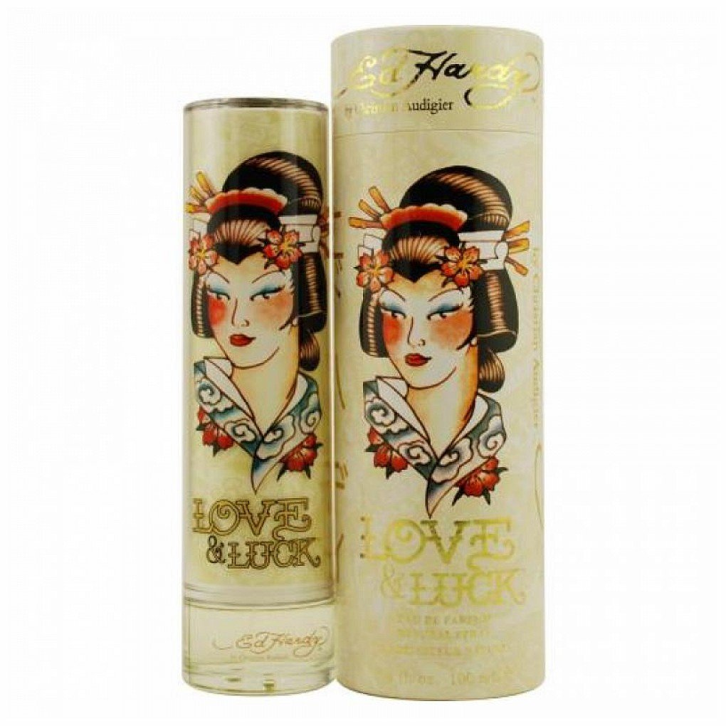 Christian Audigier Ed Hardy Love & Luck Eau de Parfum Spray for Women, 3.4 oz Generic