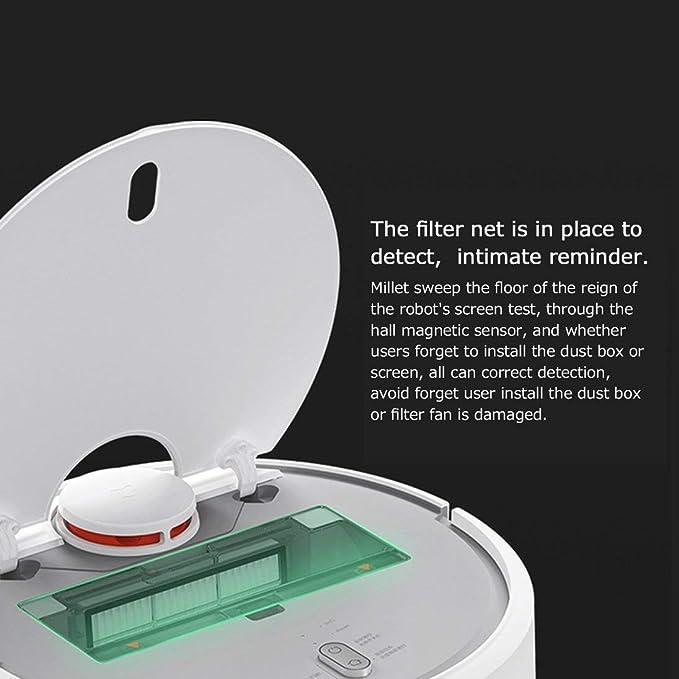 2 unids Xiaomi Robot Vacuum Filter HEPA Filtro Aspirador Piezas de repuesto: Amazon.es: Hogar