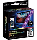 PS4/Switch用LEDイルミネーションテープ (1m)