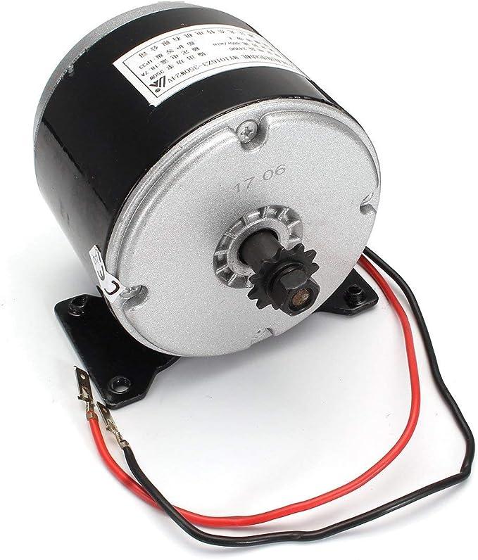 Casavidas ZY1016 - Motor eléctrico para Bicicleta eléctrica (350 W, 24 V, 2750 RPM): Amazon.es: Bricolaje y herramientas