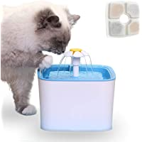 Cat Water Fountain, 2.5L Automatic Pet Water Fountain Dog Water Dispenser for Cats and Small to Medium Dogs