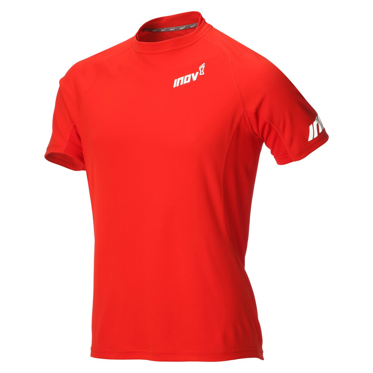 Inov-8 Base Elite Short Sleeve Größe XS Herren Laufshirts Rot