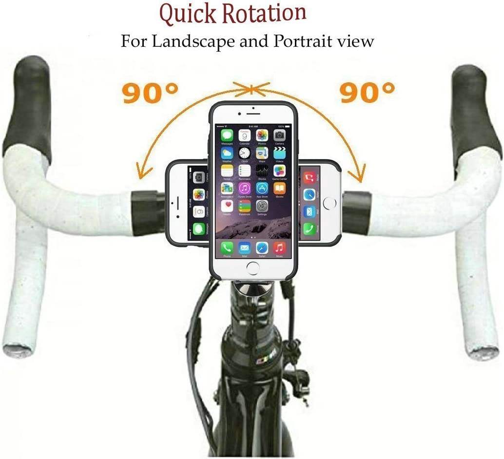 4.7 2016 /& iPhone 8 iPhone 7 /& iPhone 8 Bike Phone Mount with Riding Case,Mountain Bike,Bicycle Stemcap Cell Phone Holder Cradle with Riding Cycling Case for Apple iPhone 7 2017 Version