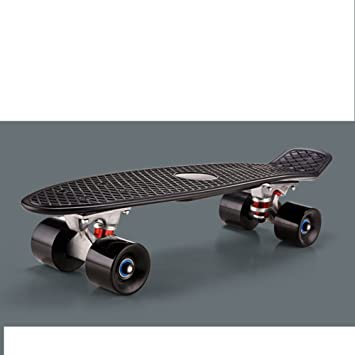 Pescado/Niños Skate/La moto de cuatro ruedas./Adultos de cuatro ruedas en lugar de andar de skate/Banana plato único-C: Amazon.es: Deportes y aire libre