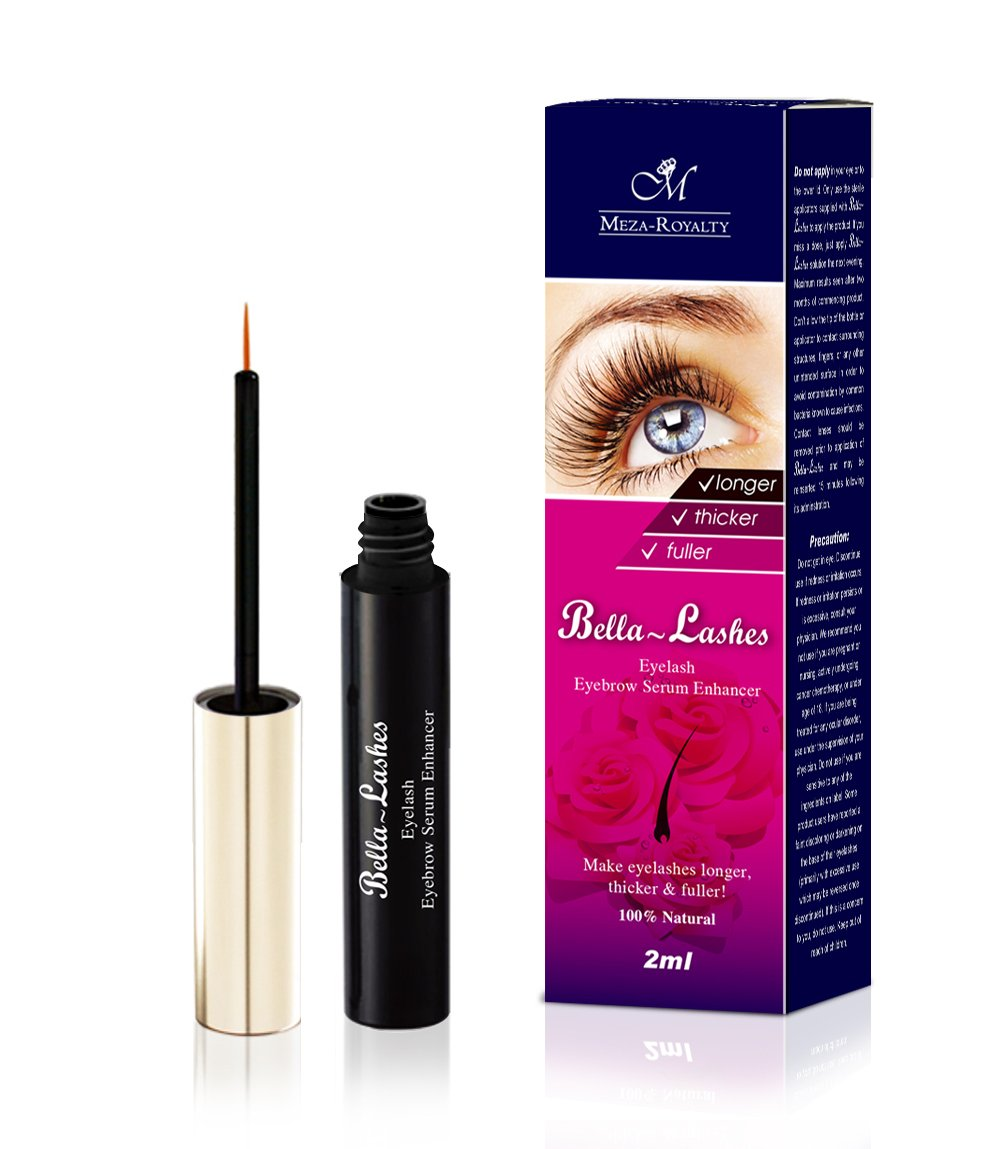 39220bd22ea Amazon.com: BELLA~LASHES Look your best. Most effective eyelash enhancing  serum. BEST lash growing serum. Ideal for gift.: Beauty