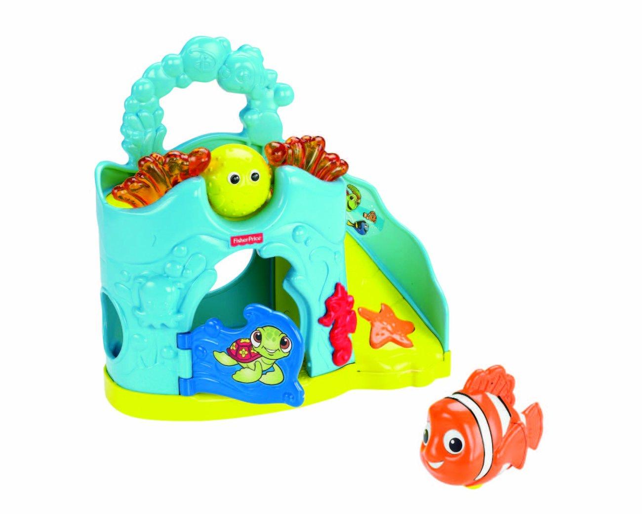 Amazon.com: Fisher-Price Amazing Animals Disney\'s Nemo Rollin\' Round ...